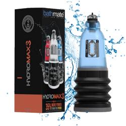 Bathmate Hydromax 3 Blue - pompka powiększająca penisa