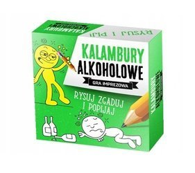 Kalambury Alkoholowe - Imprezowa gra karciana