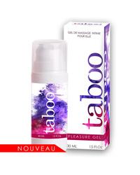 Krem pobudzający dla kobiet TABOO PLEASURE GEL 30 ml