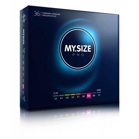 MY.SIZE 64 Dopasowane prezerwatywy - 36 szt