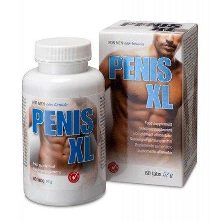 Penis XL - 60 tabletek na powiększenie penisa