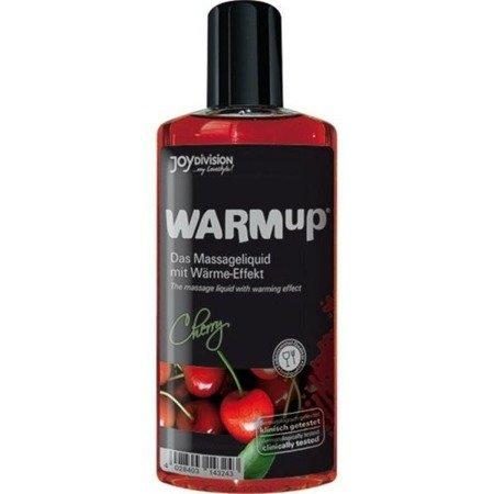 Rozgrzewający olejek do masażu JoyDivision - wiśniowy